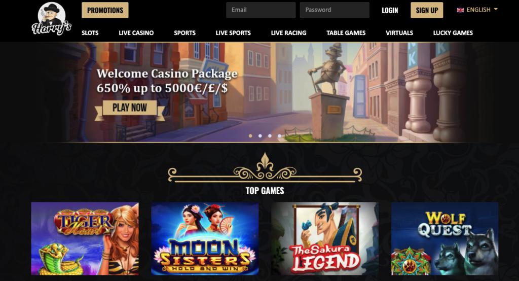 harrys casino