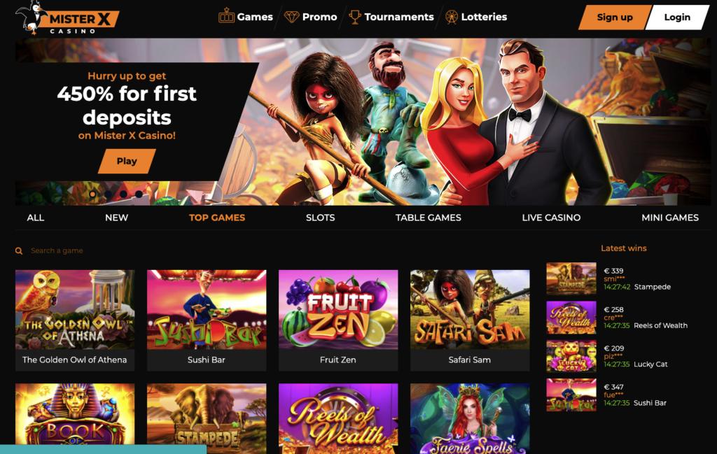 misterx casino